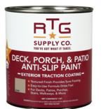 RTG Supply Co. Deck, Porch, Patio Anti-Slip Paint