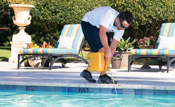 liquid chlorine for swimming pools