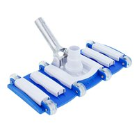 US Pool Supply 14 Weighted Flexible Concrete Swimming Pool Vacuum Head