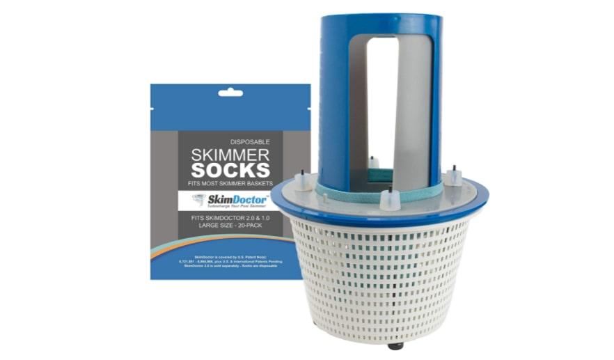 SkimDoctor 2.0 Pool Skimmer Basket Turbocharger – Best Seller