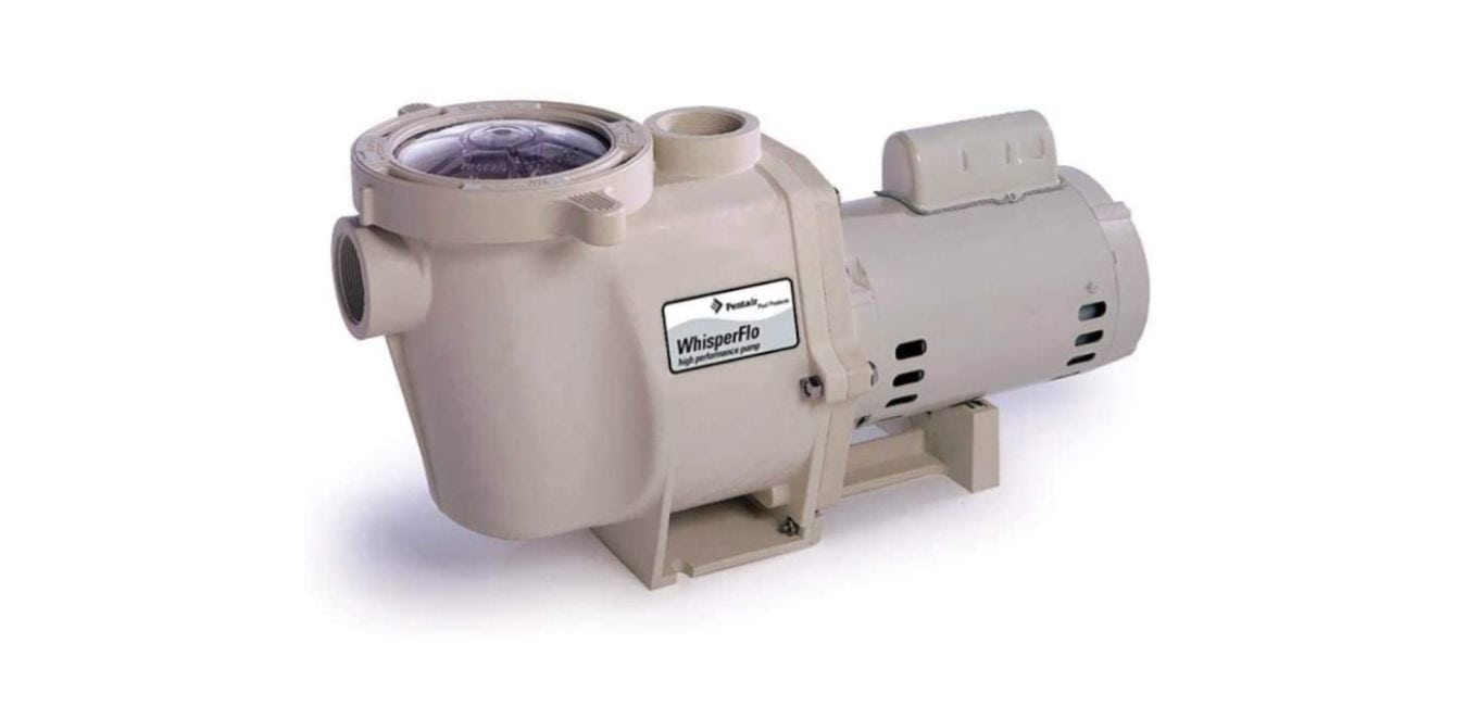 Pentair WhisperFlo 011518 Single Speed Pump